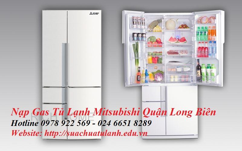 Nạp Gas Tủ Lạnh Mitsubishi Quận Long Biên