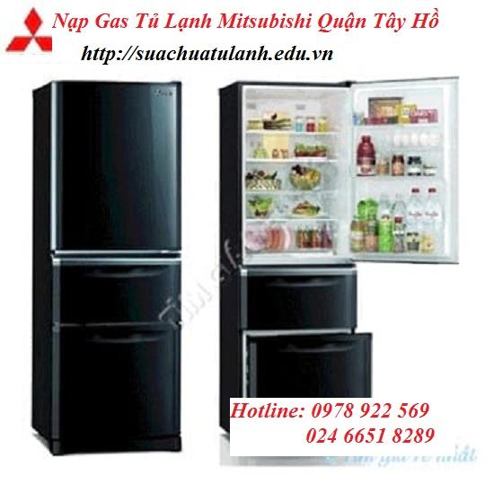 Nạp Gas Tủ Lạnh Mitsubishi Quận Tây Hồ