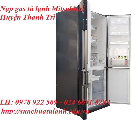 Nạp Gas Tủ Lạnh Mitsubishi Huyện Thanh Trì