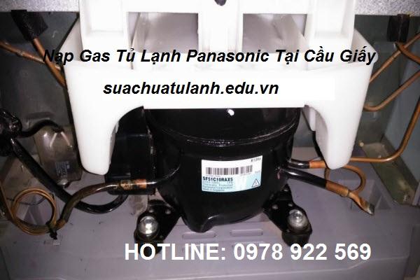 Nạp Gas Tủ Lạnh Panasonic Tại Cầu Giấy