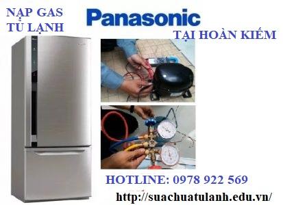 Nạp Gas Tủ Lạnh Panasonic Tại Hoàn Kiếm