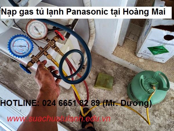 Nạp gas tủ lạnh Panasonic tại Hoàng Mai