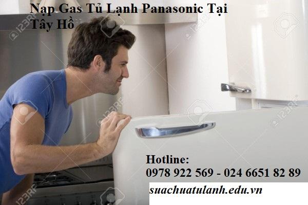 Nạp Gas Tủ Lạnh Panasonic Tại Tây Hồ