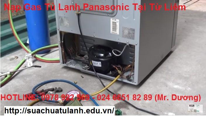 Nạp Gas Tủ Lạnh Panasonic Tại Từ Liêm