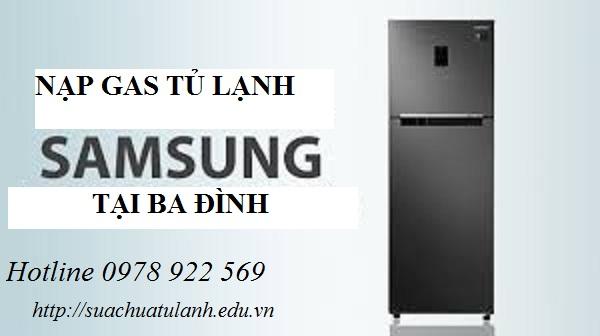 Nạp Gas Tủ Lạnh Samsung tại Ba Đình