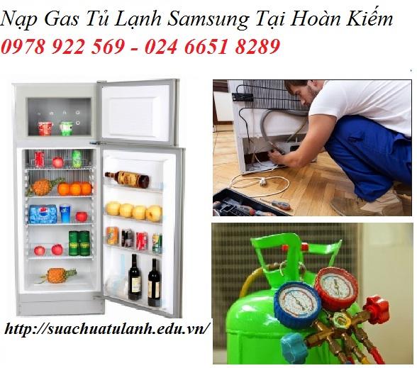 Nạp Gas Tủ Lạnh Samsung Tại Hoàn Kiếm