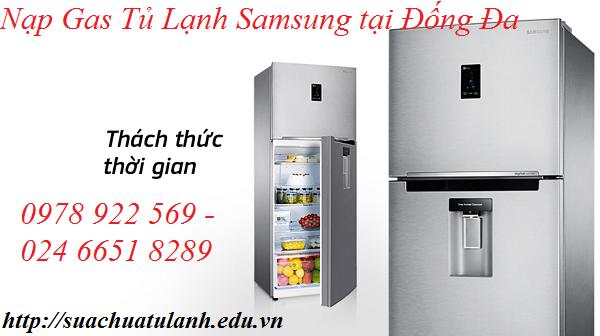 Nạp Gas Tủ Lạnh Samsung tại Đống Đa