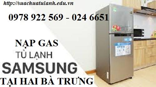 Nạp Gas Tủ Lạnh Samsung tại Hai Bà Trưng