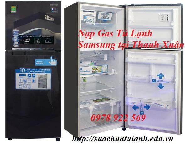 Nạp Gas Tủ Lạnh Samsung tại Thanh Xuân