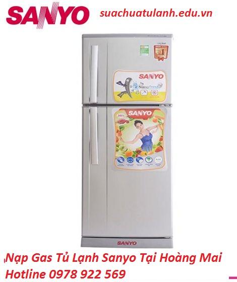 Nạp Gas Tủ Lạnh Sanyo Tại Hoàng Mai