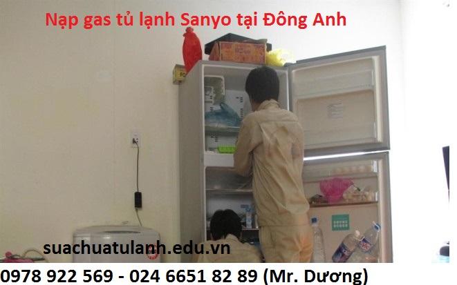 Nạp Gas Tủ Lạnh Sanyo Tại Đông Anh