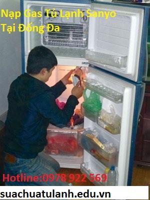 Nạp Gas Tủ Lạnh Sanyo Tại Đống Đa