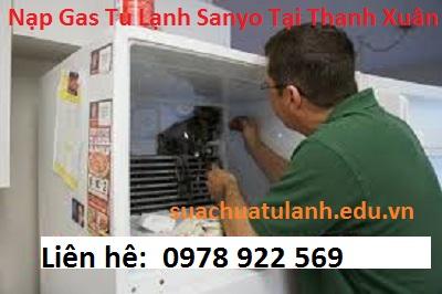 Nạp Gas Tủ Lạnh Sanyo Tại Thanh Xuân