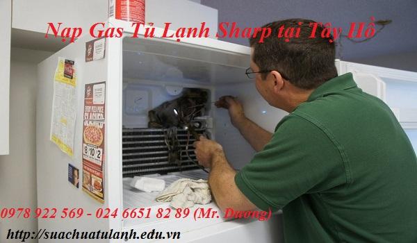 Nạp Gas Tủ Lạnh Sharp tại Tây Hồ