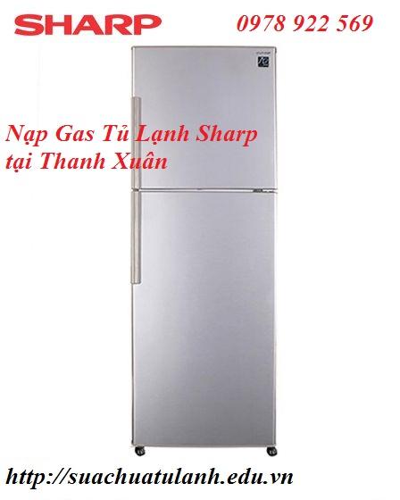 Nạp Gas Tủ Lạnh Sharp tại Thanh Xuân