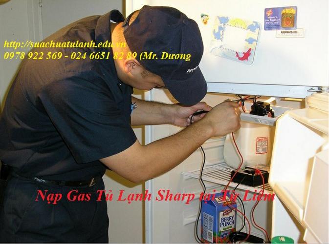 Nạp Gas Tủ Lạnh Sharp tại Từ Liêm