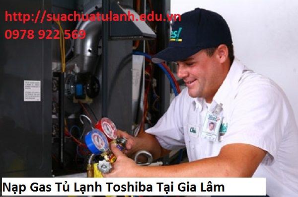Nạp Gas Tủ Lạnh Toshiba Tại Gia Lâm