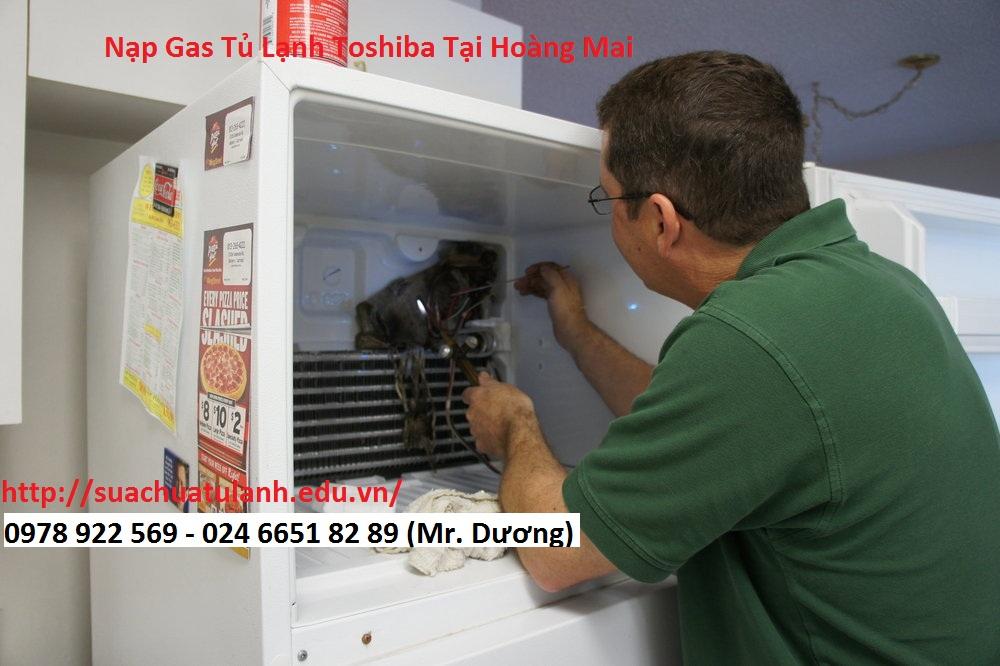 Nạp Gas Tủ Lạnh Toshiba Tại Hoàng Mai