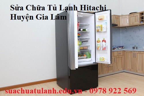 Sửa Chữa Tủ Lạnh Hitachi Huyện Gia Lâm