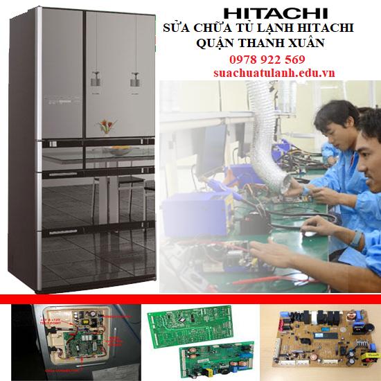 Sửa Chữa Tủ Lạnh Hitachi quận Thanh Xuân
