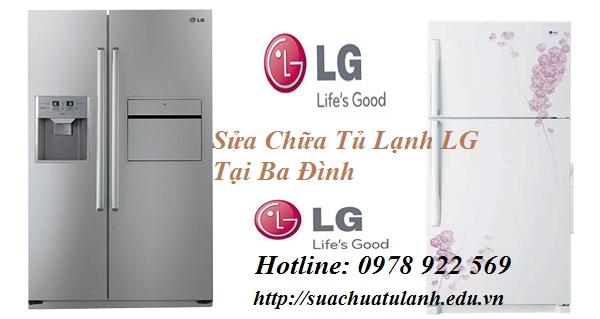 Sửa Chữa Tủ Lạnh LG Tại Ba Đình