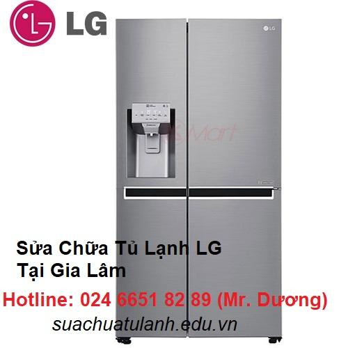 Sửa Chữa Tủ Lạnh LG Tại Gia Lâm
