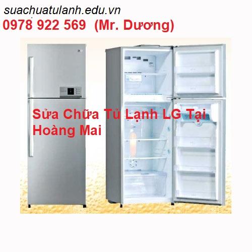 Sửa Chữa Tủ Lạnh LG Tại Hoàng Mai