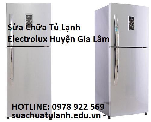 Sửa Chữa Tủ Lạnh Electrolux Huyện Gia Lâm