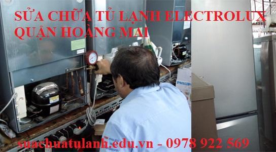 Sửa Chữa Tủ Lạnh Electrolux Quận Hoàng Mai