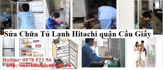 Sửa Chữa Tủ Lạnh Hitachi quận Cầu Giấy