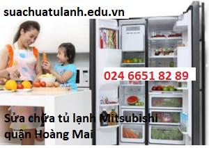 Sửa chữa tủ lạnh Mitsubishi quận Hoàng Mai