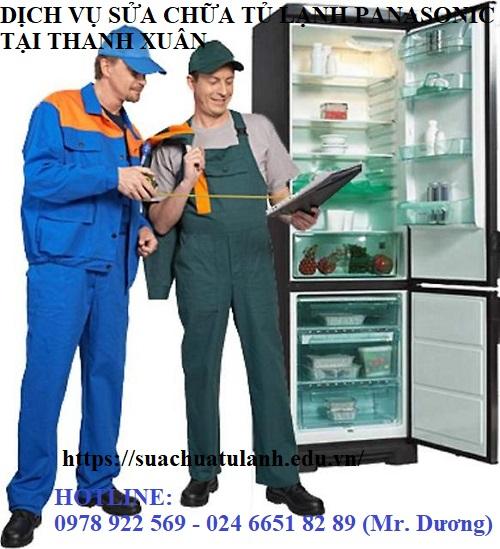 Sửa chữa tủ lạnh Panasonic tại Thanh Xuân