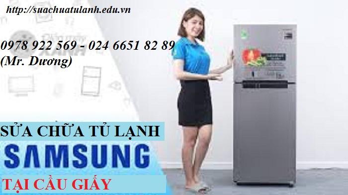 Sửa Chữa Tủ Lạnh Samsung Tại Cầu Giấy