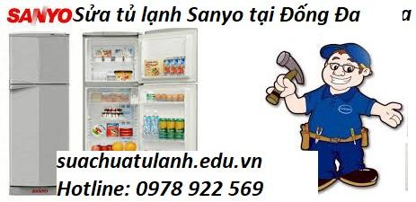 Sửa chữa tủ lạnh Sanyo tại Đống Đa