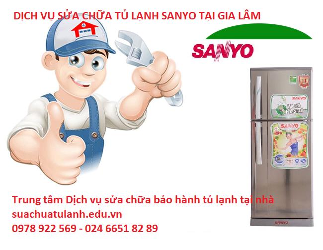 Sửa tủ lạnh Sanyo tại Gia Lâm