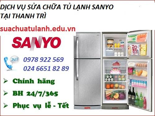 sửa chữa tủ lạnh Sanyo tại Thanh Trì