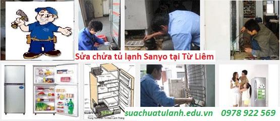 Sửa chữa tủ lạnh Sanyo tại Từ Liêm