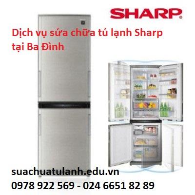 Sửa chữa tủ lạnh Sharp tại Ba Đình