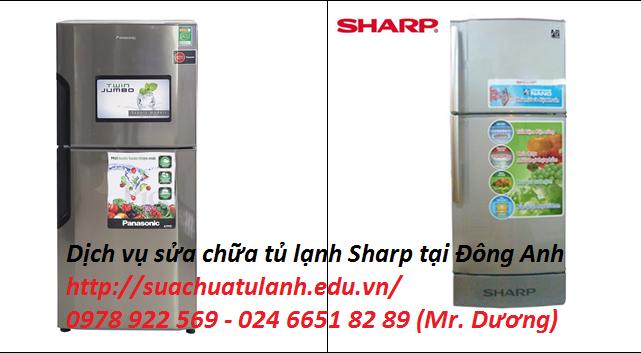 Sửa chữa tủ lạnh Sharp tại Đông Anh