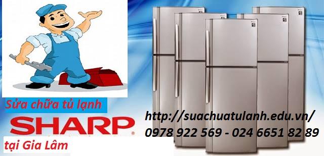 Sửa chữa tủ lạnh Sharp tại Gia Lâm