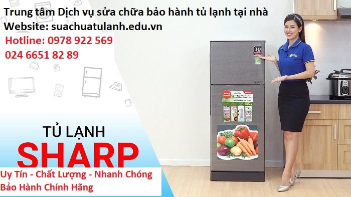 Sửa chữa tủ lạnh Sharp tại Hoàn Kiếm