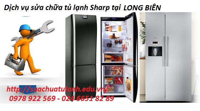 sửa chữa tủ lạnh Sharp tại Long Biên