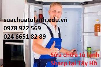 Sửa chữa tủ lạnh Sharp tại Tây Hồ