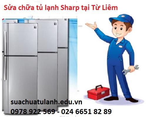 sửa chữa tủ lạnh Sharp tại Từ Liêm