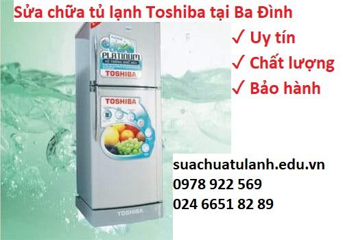 Sửa chữa tủ lạnh Toshiba tại Ba Đình