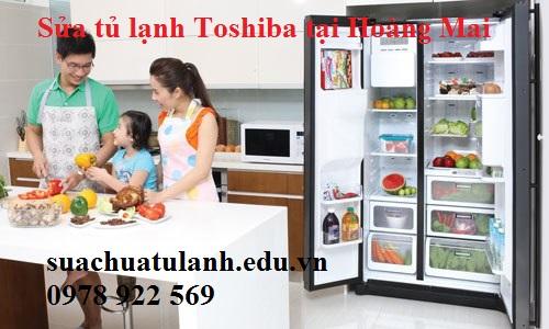 sửa chữa tủ lạnh Toshiba tại Hoàng Mai