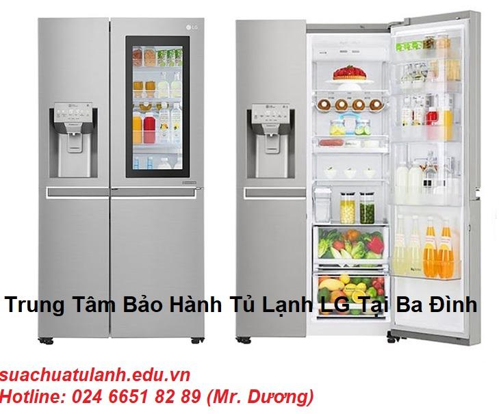 Trung Tâm Bảo Hành Tủ Lạnh LG Tại Ba Đình