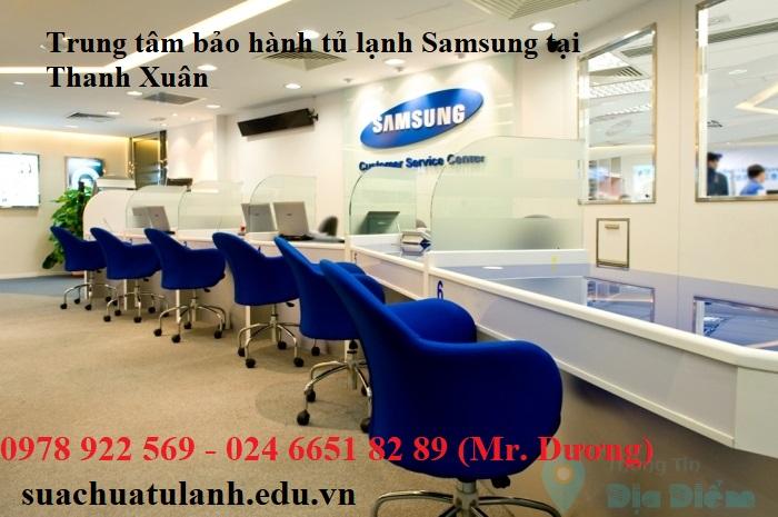 Trung tâm bảo hành tủ lạnh Samsung tại Thanh Xuân