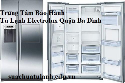 Trung Tâm Bảo Hành Tủ Lạnh Electrolux Quận Ba Đình