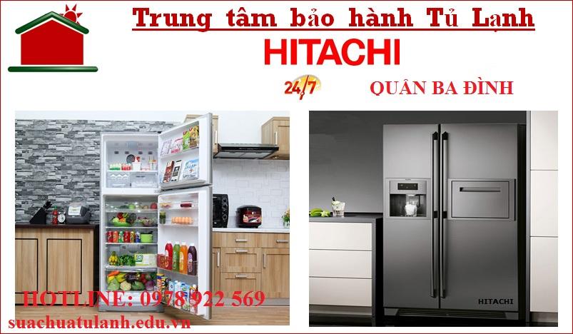 Trung Tâm Bảo Hành Tủ Lạnh Hitachi Quận Ba Đình